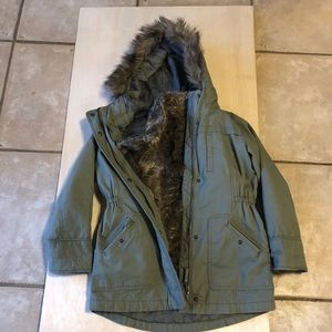 Faux Fur Gap Kids jacket